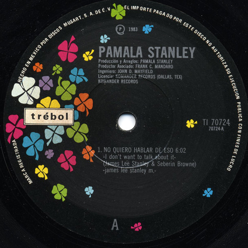 pamala stanley i don't want to talk about it